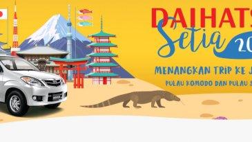 Apresiasi Pelanggan Setia Daihatsu, Pemenang Program Daihatsu Ceria Diajak Ke Jepang