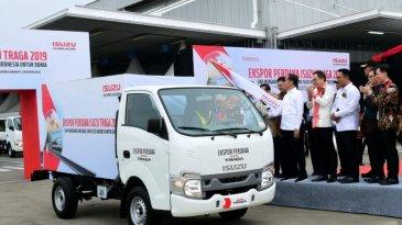 Isuzu Traga Resmi Diekspor Setelah 20 Bulan Mengaspal di Indonesia