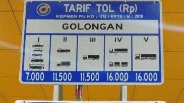 Tol Jagorawi Resmi Pakai Tarif Baru, Berikut Daftarnya!