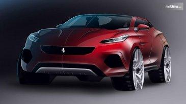 Keluar Dari Pakem, SUV Ferrari Makin Dekat Diluncurkan