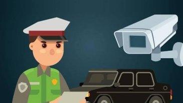 Tilang Elektronik Diuji Coba di Empat Titik Jalan Tol