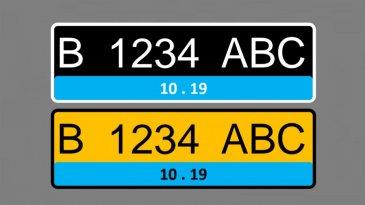 Sah, Kendaraan Listrik Pakai Pelat Nomor Warna Biru