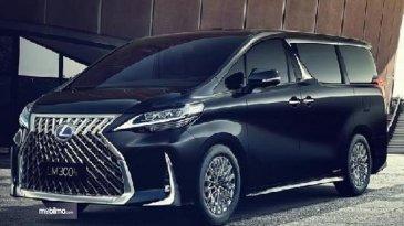 Mobil MPV Mewah Lexus LM300h Belum Meluncur, Di Indonesia Sudah Ada Yang Pesan