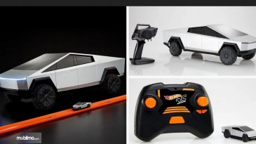Tesla Cybertruck Model Mainan Remote Control Dirilis Hot Wheels