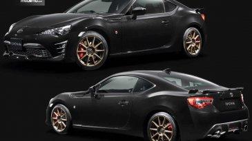 Toyota 86 Black Limited, Mobil Sport Dengan Unit Terbatas