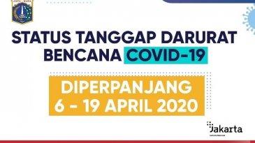 Pemprov DKI Perpanjang Masa Bebas Ganjil Genap Hingga 19 April 2020