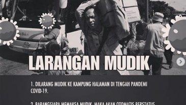 Tegas, Maklumat Larangan Mudik Warga Jawa Barat Oleh Gubernur