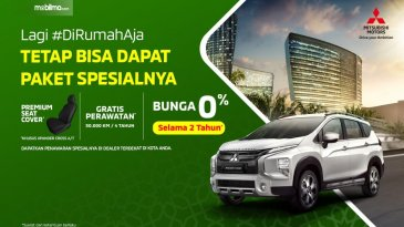 Promo Mitsubishi April 2020, Dari Bunga 0% Hingga Special Trade-In