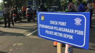PSBB Diperluas di Jabodetabek, Polisi Tambah Check Point Menjadi 158 Titik