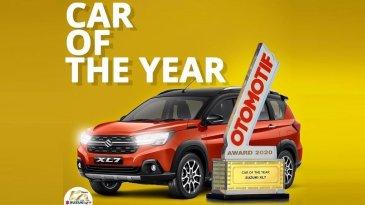 Ajang OTOMOTIF Award 2020, Suzuki XL7 Jadi Mobil Terbaik Tahun 2020