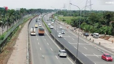 Larangan Mudik, Volume Kendaraan Di Jalan Tol Dikelola Jasa Marga Menurun