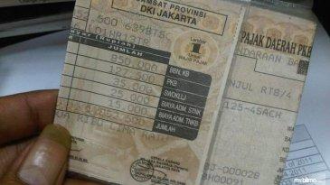 Pemkot DKI Bebaskan Warga Dari Denda Pajak Kendaraan Bermotor