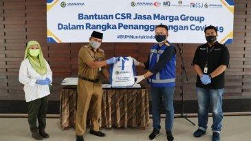 Ribuan Paket Sembako Dibagikan Jasa Marga Untuk Warga DKI dan Tangerang
