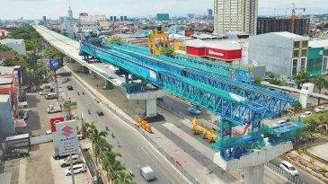 Progres 85%, Konstruksi Tol Layang AP Pettarani Ditarget Rampung September 2020