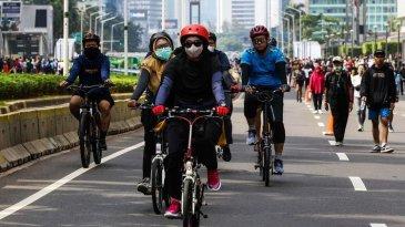 Jalur Sepeda Disiapkan Meski Belum Ada CFD di Jakarta