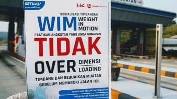 Sudah Dipasang WIM, Truk ODOL Dilarang Masuk di Tol Trans Sumatra