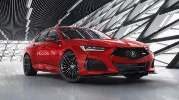 Hebat, Aibag Mobil All New Acura TLX 2021 Bisa Cegah Gegar Otak