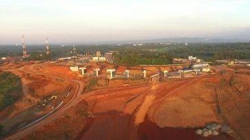 Progres Jalan Tol Jakarta-Cikampek Selatan Paket 3 Capai 27,16 Persen