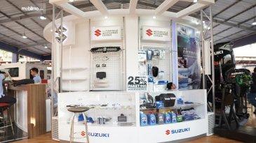 Berkah PSBB Transisi, Penjualan Suku Cadang Suzuki Makin Laris