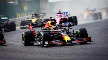 Seri F1 GP Hungaria 2020, Honda Raih Podium Kedua