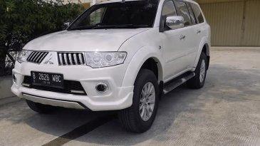 Review Mitsubishi Pajero Sport Exceed Limited 2013 : Mobil SUV Mesin Bertenaga Sparepart Mudah