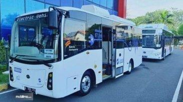 Ini Alasan Uji Coba Bus Listrik TransJakarta Dilakukan Super Ketat