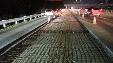 Masuk Agustus, Rekonstruksi Jalan Tol Jagorawi Dilanjutkan