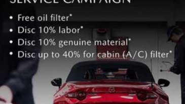 Program Mazda Service Campaign 2020, Banyak Yang Ditawarkan Lho