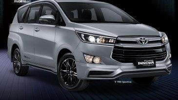 Peringati 2 Momen Penting, Toyota Kijang Innova TRD Sportivo Limited Dihadirkan Dengan Fitur Baru