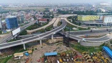 Progres Jalan Tol Cengkareng-Batuceper-Kunciran Sudah 86,46%