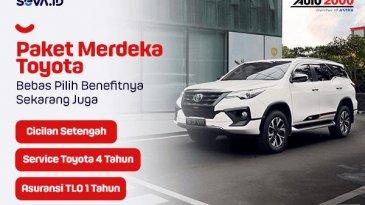 Promo Merdeka Auto2000, Beli Mobil Cicilan Bayar Setengah