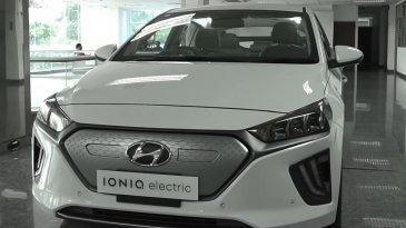 Terdapat Keunikan Hyundai Ioniq, Salah Satunya Tak Ada Tuas Transmisi