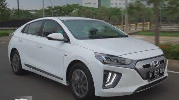 Review Hyundai Ioniq Electric 2020 : Mobil Listrik Harga Murah Fitur Cukup Lengkap