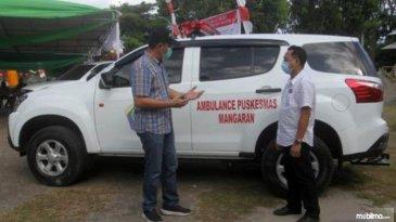 Kondisi Jalanan Ekstrem, Sektor Kesehatan Manado Pakai Mobil Isuzu Mu-X Ambulans