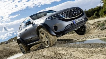 Kejutan, Inilah Konsep Mercedes-Benz EQC 4x4² Bergaya Offroad