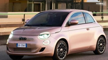 Keunikan Pintu Mobil Listrik Fiat 500e 3+1, Dapat Dibuka Seperti Lemari