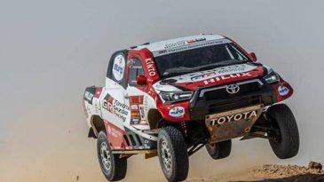Reli Dakar 2021 Akan Dilakukan Di Arab Saudi, TOYOTA GAZOO Racing Siapkan 4 Tim