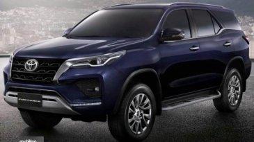 Meluncur Di India, Toyota Fortuner Facelift Ada Perbedaan Dengan Indonesia