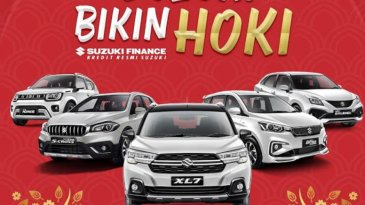 Program Suzuki Bikin Hoki, Beli Mobil Dapat Asuransi Banjir Gratis