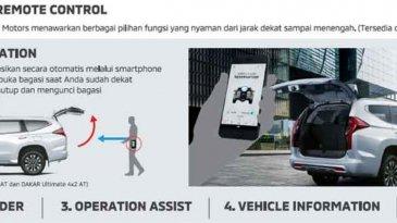 New Pajero Sport Dapat Dikendalikan Melalui Smartphone Dengan Fitur Mitsubishi Remote Control