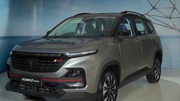 Wuling Almaz RS 2021  Hadir Dengan Teknologi Canggih, Harga Masih Belum Diungkapkan
