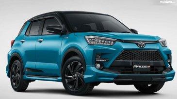 Mulai Rp. 219,9 jutaan, Harga Toyota Raize 2021 Ada Beberapa Tergantung Tipenya