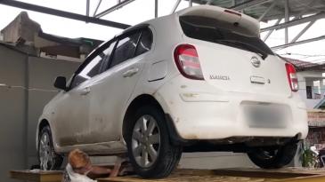 Mobil Nissan March Arief Muhammad, Banyak PR Saat Dibeli Tapi Laku Rp. 500 Juta Setelah Restorasi