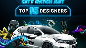 15 Finalis City Hatch Art Competition Model Honda City Hatchback RS Diumumkan Honda