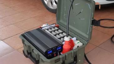 Pria Asal Malaysia Buat Powerbank Mobil Listrik, Bisa Tambah Jarak 14-15 KM