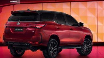 Toyota Fortuner GR Sport Hadir Di Thailand Pakai Mesin 2.8 L