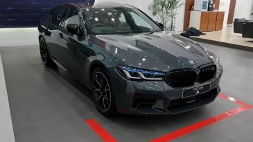 Melirik BMW M5 Competition, Mobil Baru Dengan Banyak Keunggulan