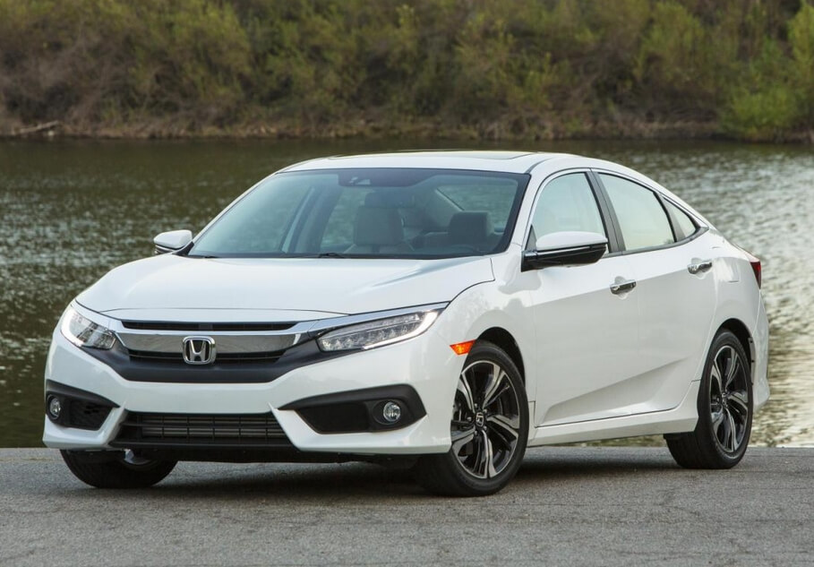 910 Honda All New Civic Warna Putih Gratis