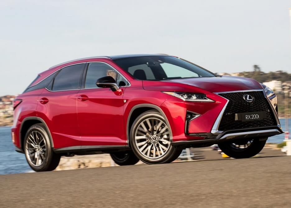 New Lexus Suv >> Fitur Fitur Unggulan New Lexus Rx 200t F Sport Untuk Indonesia